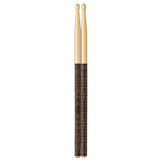 Vintage crocodile skin drum sticks