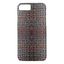 Vintage crocodile skin iPhone 7 case