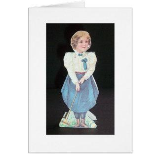 Vintage Croquet - Wellesley College Card