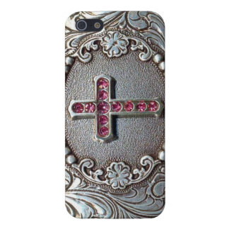 Vintage Cross Cover For iPhone SE/5/5s