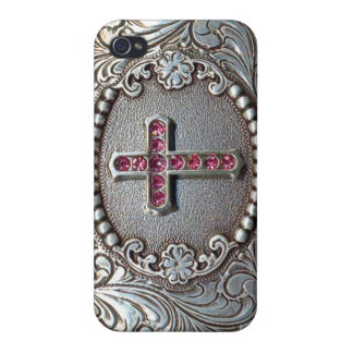Vintage Cross iPhone 4/4S Covers