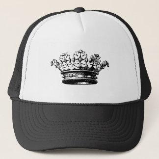 Vintage Crown - Black Trucker Hat