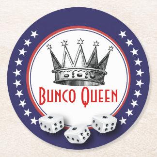 Vintage Crown Bunco Queen Coasters