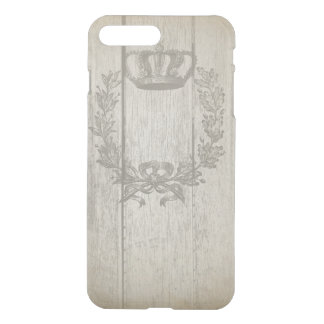 Vintage Crown iPhone7+ Clearly™ Deflector iPhone 7 Plus Case