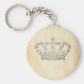 Vintage Crown Keychain