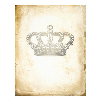 Vintage Crown Letterhead