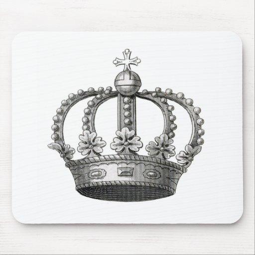 Vintage Crown Mouse Pad