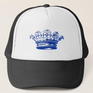 Vintage Crown - Navy Blue Trucker Hat