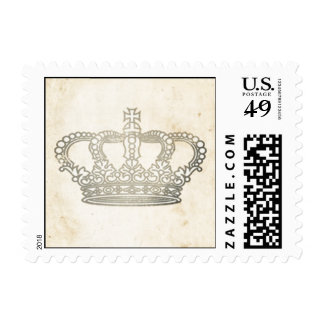 Vintage Crown Postage