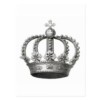 Vintage Crown Postcard