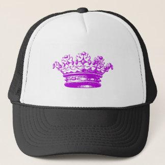 Vintage Crown - Purple Trucker Hat