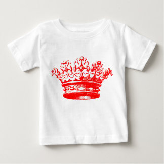 Vintage Crown - Red Baby T-Shirt