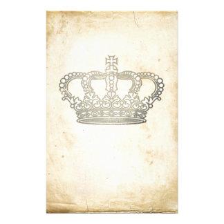 Vintage Crown Stationery