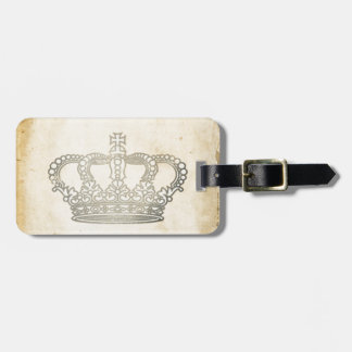 Vintage Crown Tags For Luggage