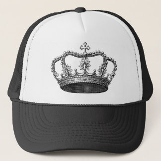 Vintage Crown Trucker Hat