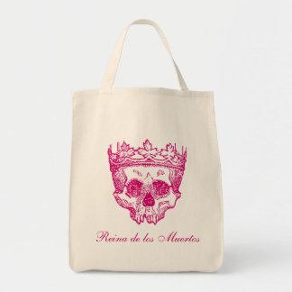 Vintage Crowned Skull Tote Bag