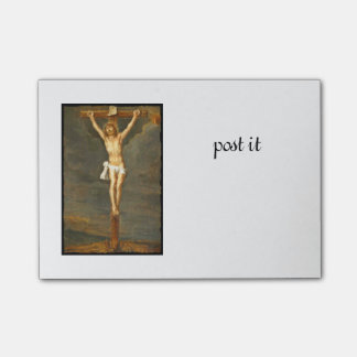 Vintage Crucifixion Image Post-it Notes