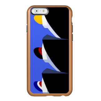 Vintage Cruise Ships Poster Ocean Liners Incipio Feather® Shine iPhone 6 Case