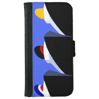 Vintage Cruise Ships Poster Ocean Liners Wallet Phone Case For iPhone 6/6s