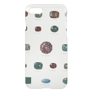 Vintage crystal gemstone gems diamond clear iPhone 8/7 case