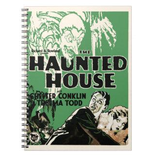 """Vintage cuaderno del cartel de película """"de la cas"""