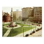 Vintage cuadrado 1915 del búfalo NY de Lafayette Postales