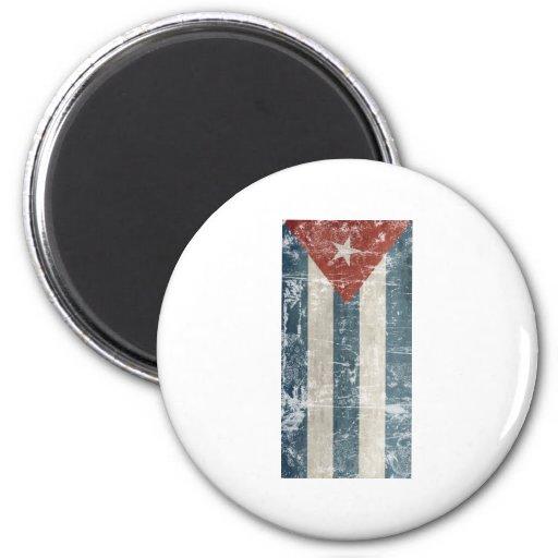 Vintage Cuba 2 Inch Round Magnet
