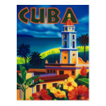 Vintage Cuba - Postcard