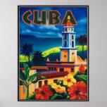 Vintage Cuba - Póster