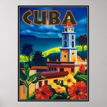 Vintage Cuba - Poster
