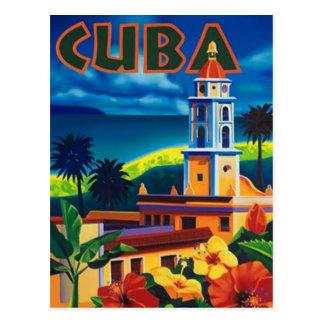 Vintage Cuba - Tarjeta Postal