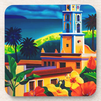 Vintage Cuba Travel Coaster