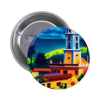 Vintage Cuba Travel Pinback Button