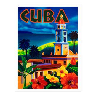 Vintage Cuba Travel Postcard