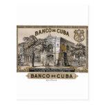 Vintage Cubano Banco de Cuba de Cuba Postales