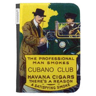 Vintage Cubano Club Cigars Kindle Covers