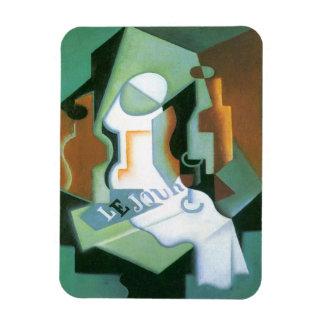 Vintage Cubism, Bottle and Fruit Dish by Juan Gris Rectangular Photo Magnet