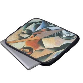 Vintage Cubism, Guitar (Banjo) Glasses, Juan Gris Computer Sleeves
