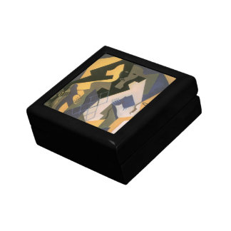 Vintage Cubism, Harlequin at a Table by Juan Gris Gift Box
