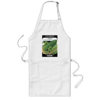 Vintage Cucumber Seed Packet Apron