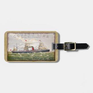 Vintage Cunard Line Royal Mail Steamers Luggage Tag