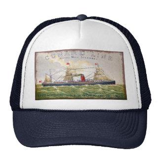 Vintage Cunard Line Royal Mail Steamers Trucker Hat