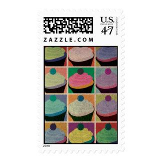 Vintage Cupcakes Postage Stamp