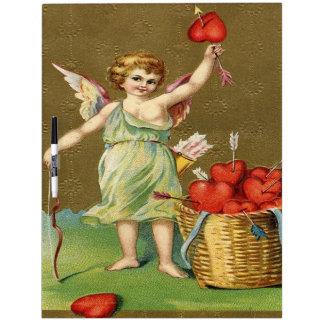 Vintage, Cupid Angel, Arrows, Hearts Dry-Erase Board