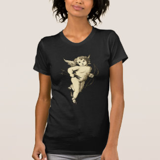 Vintage Cupid Illustration T-Shirt