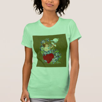 Vintage Cupid & Moonbeam Valentine T-shirt
