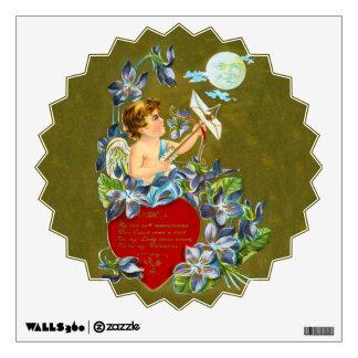 Vintage Cupid & Moonbeam Valentine Wall Decor