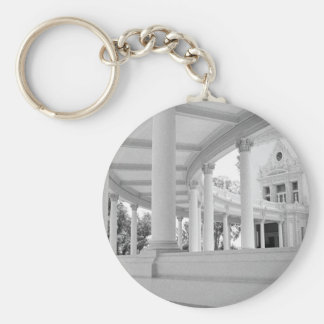 Vintage Curved Colonnade Key Chain