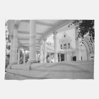 Vintage Curved Colonnade Kitchen Towel