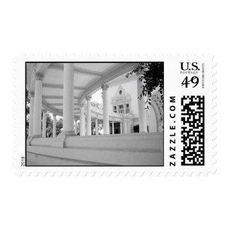 Vintage Curved Colonnade – Medium Stamp